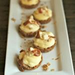 Banana Pudding Granola Tart Cups