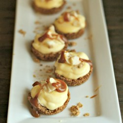 Banana Pudding Granola Tart Cups