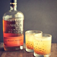 Bourbon is a must for your holiday party list--especially Bulleit. Forgot something on your list? Drizly is to the rescue with DELIVERY right to your home! via @DashOfEvans