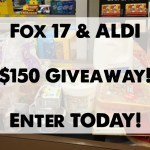 Fox 17+ ALDI Grocery Giveaway: Enter today!!