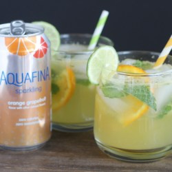 Patio Drink: Orange Grapefruit Mojito Mo...
