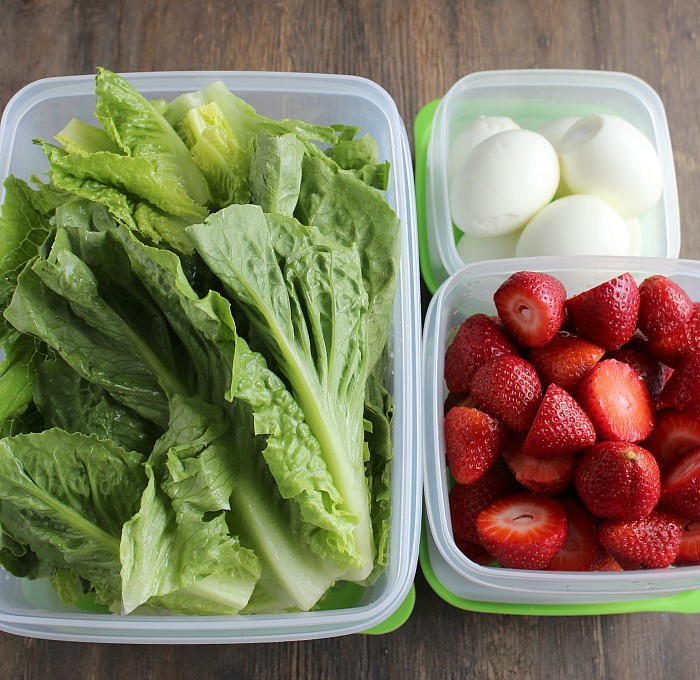 Meal Prep like a pro with Rubbermaid FreshWorks containers! Check out my 5 tips! via @DashOfEvans