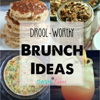 Looking for easy brunch recipes to make your crowd drool? Look no further! via @DashOfEvans