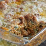 Homestyle Meat & Veggie Lasagna