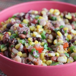 Healthy Salad: Mexican Mixed Bean Salad