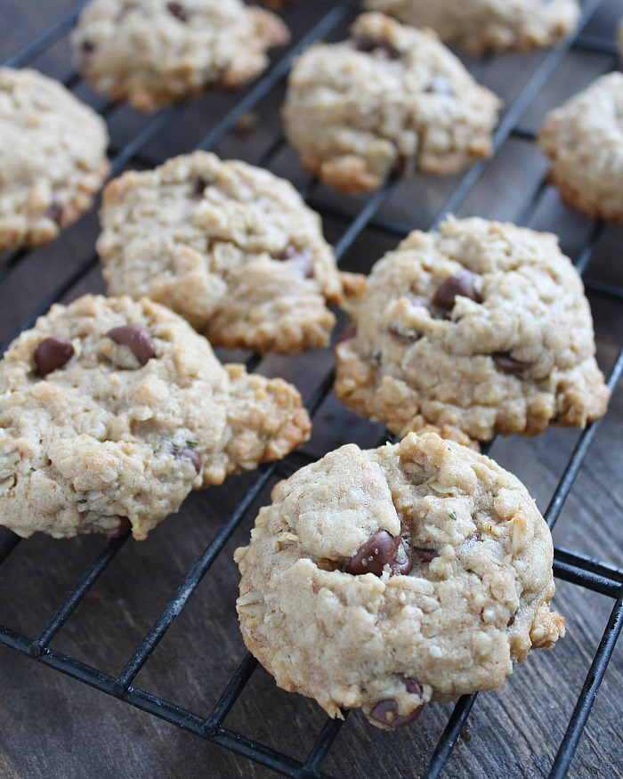 How to make (and freeze!) Milky Monster Lactation Cookies. These are SO delish! via @DashOfEvans