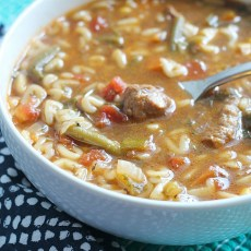 Lunchbox Friendly ABC Vegetable Beef Soup