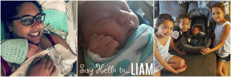 Welcoming Liam to the Evans family!