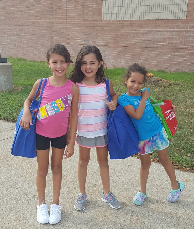 The Evans girls- back to school 2017! via @DashOfEvans