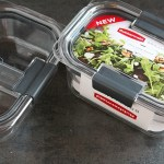 New Rubbermaid BRILLIANCE Containers-per...