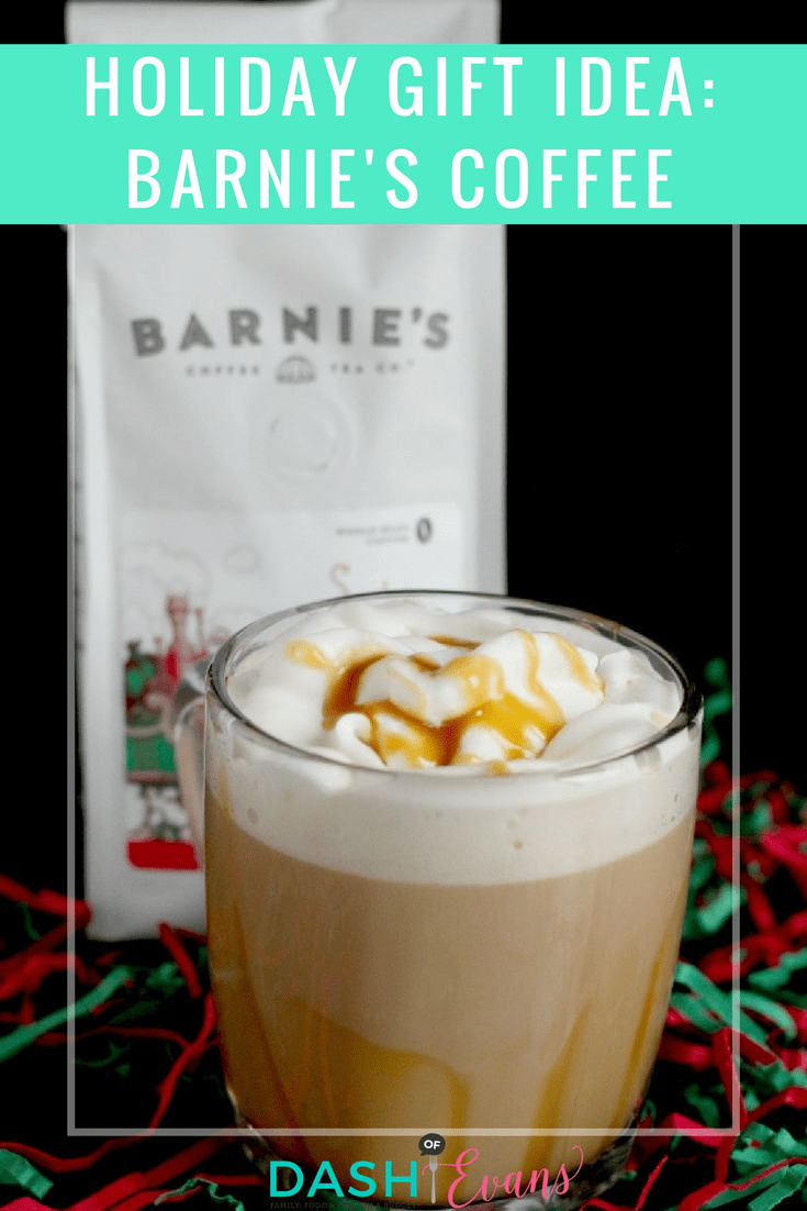 Barnie's Coffee is perfect for the coffee lover in your life. The Santa's White Christmas variety is perfect for the holidays! via @DashOfEvans