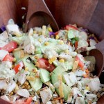 Southwest Chopped Salad with Blackened Chicken