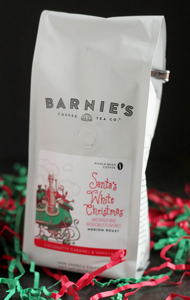 Barnie's Coffee is perfect for the coffee lover in your life. The Santa's Sleigh variety is perfect for the holidays! via @DashOfEvans