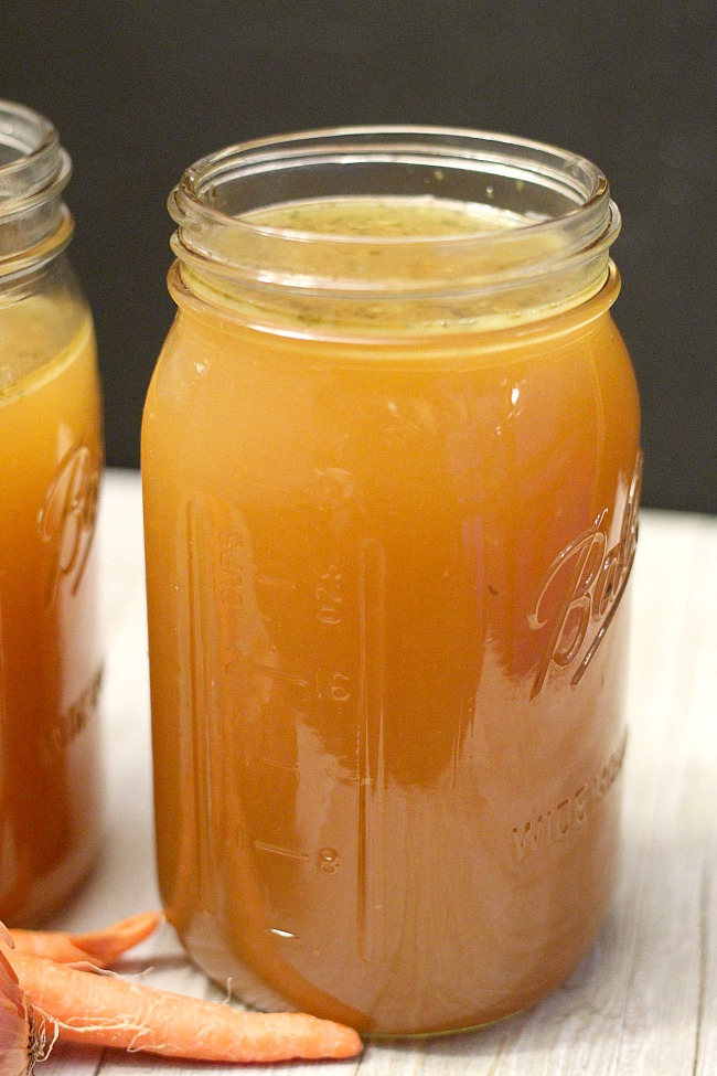 Using a PUR® water filter helps remove contaminates from your household faucet --perfect for cooking, drinking and ice! Check out this delicious Pressure Cooker Chicken Stock recipe via @DashOfEvans