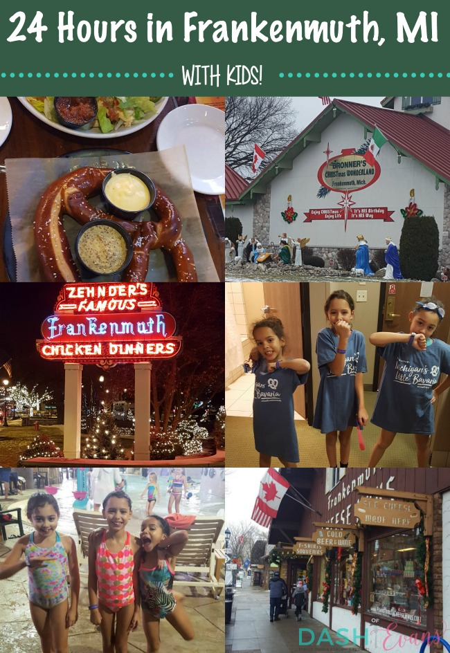 24 Hours in Frankenmuth with Kids Dash Of Evans