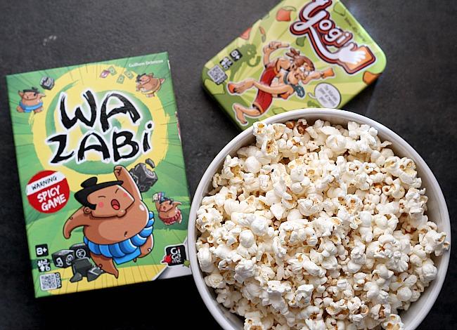 Family Game Night Fun + Coconut Oil Popcorn Recipe - Dash Of