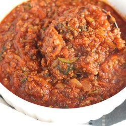 Pressure Cooker Veggie Filled Meat Sauce...