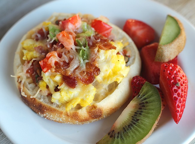 Bays breakfast english muffin pizzas dash of evans forumfinder Image collections