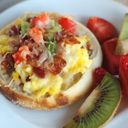 Bays Breakfast English Muffin Pizzas