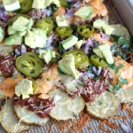 Curly's BBQ Pulled Beef Idaho Nachos