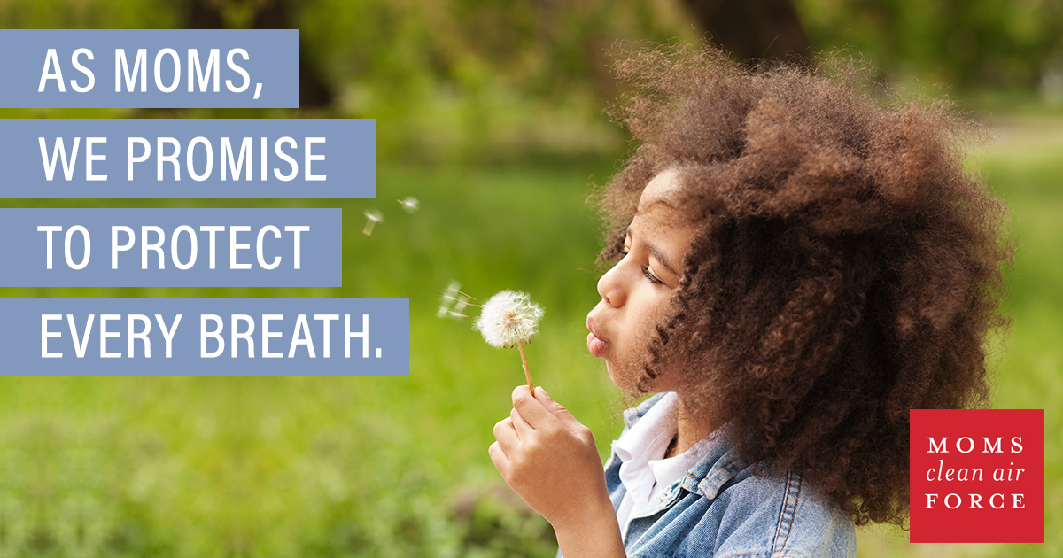 As a parent, you want the best for your little ones --especially when it comes to clean air for the future generation. Join the Moms Clean Air Force to help take action! via @DashOfEvans #BabyPower
