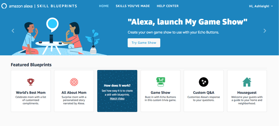 Do you have an Amazon Echo? It really is an amazing tool to help out YOU and provide screen-free fun for the family! Check out my review on @DashOfEvans. #skillblueprints #alexa #IC