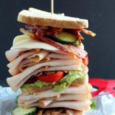 Spicy California Turkey Club Sandwich
