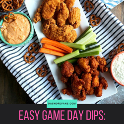 Two Easy Game Day Party Dips