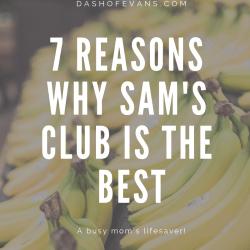 7 Reasons my Sam's Club is worth i...