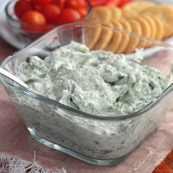 Creamy Whipped Feta and Spinach Dip