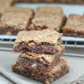 Brown Butter Chocolate Chip & Walnut Bars