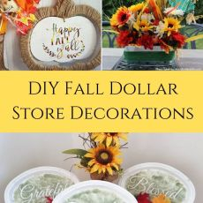 DIY Fall Dollar Store Ideas to Decorate Your Home
