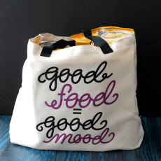 Easy Infusible Ink Project: Reusable Totes