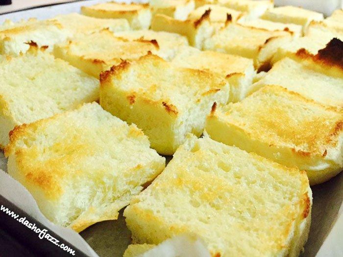 toasted King's Hawaiian rolls