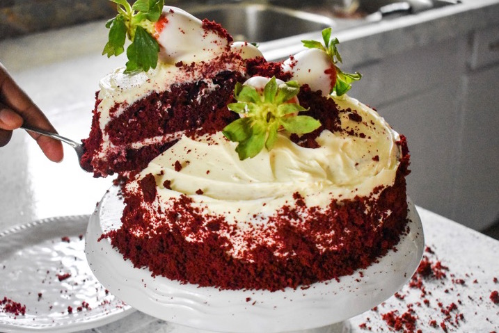 The Ultimate Red Velvet Cake | Dash of Jazz