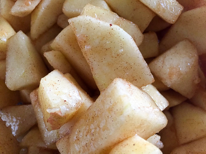 chunky apple pie filling
