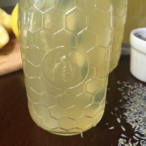 Simple Honey Lavender Lemonade