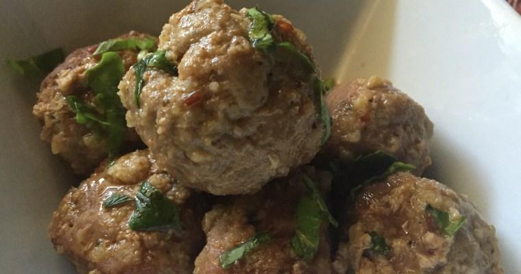 Slow Cooker Honey Fire Meatballs