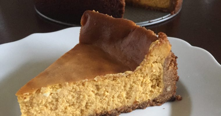 Perfect Pumpkin Cheesecake