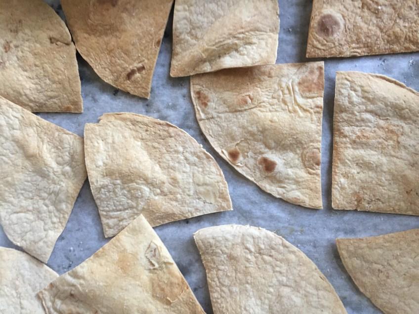 Pumpkin Salsa and Homemade Chips | Dash of Jazz