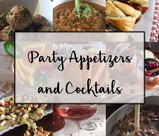 Party Appetizers & Cocktails | Dash of Jazz