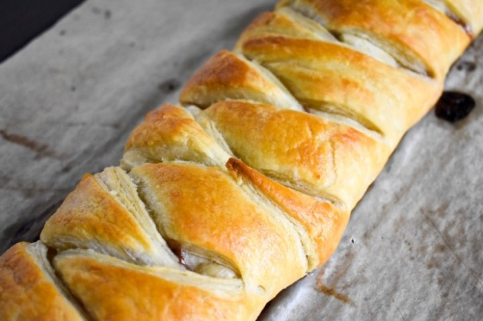 baked pastry braid perfect for brunch