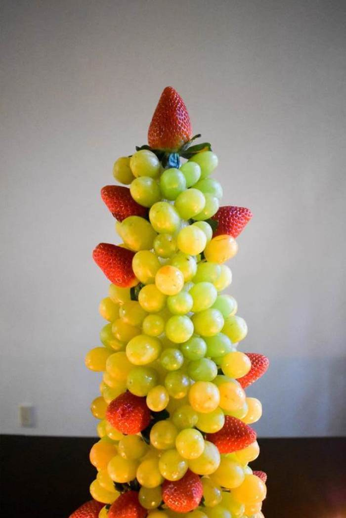 Festive Fruit Centerpiece
