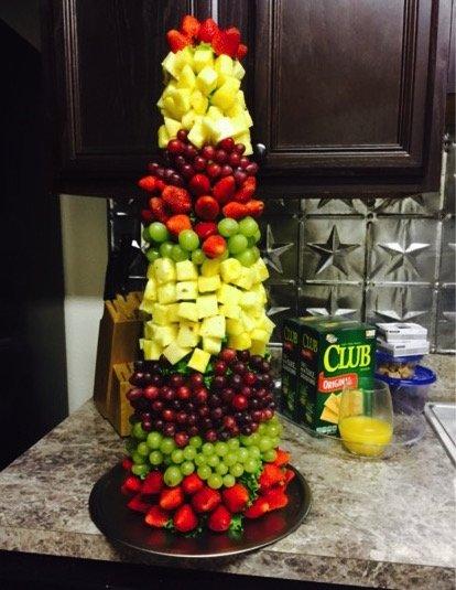 Festive Fruit Centerpiece | Dash of Jazz