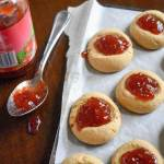 PB&J Thumbprint Cookies | Dash of Jazz