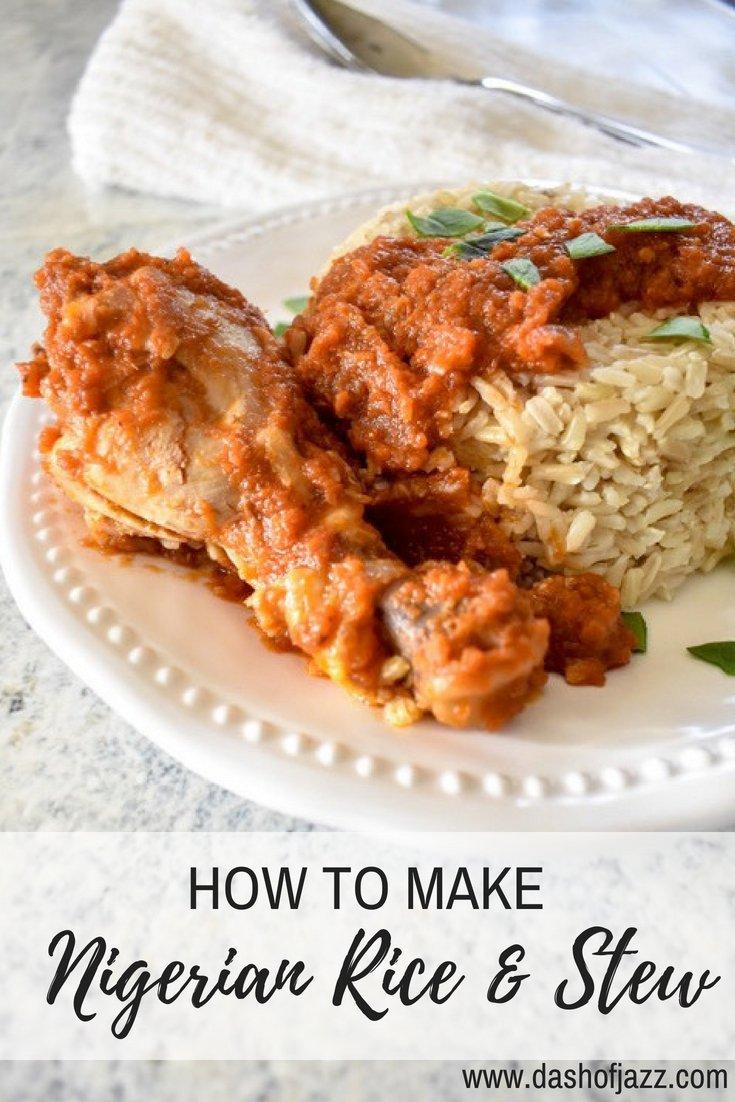 Nigerian Rice & Stew