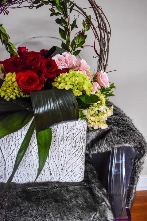 Valentine's Day Flowers Inspiration with Blooms Design Studio by Dash of Jazz