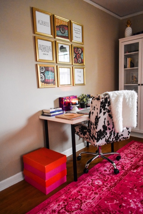 Home Office Tour   Dash of Jazz