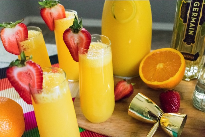 Turnt Tequila Mimosas