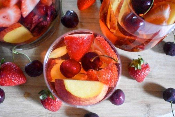 Summer Fruit Rosé Sangria
